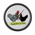 Black Sex-linked Chickens Giant Clock