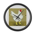 Cornish/Rock Cross Hen Giant Clock