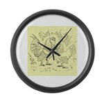 D'Anvers On Canvas Giant Clock