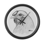 Chantecler Rooster Head Giant Clock