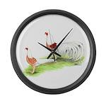 Yokohama Chickens Giant Clock