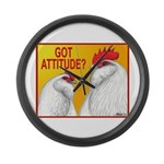 Got Attitude? Giant Clock