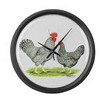 Barred Hollands Giant Clock