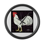 Leghorn Rooster Giant Clock