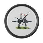 Modern Games Silver Blue Giant Clock