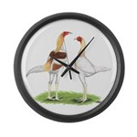 Red Pyle Modern Games Giant Clock