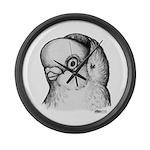 Reinaugen Pigeon Giant Clock