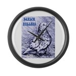 Parlor Roller Pigeon Giant Clock