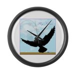 Pigeon Fly Home Giant Clock