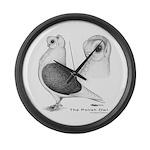 Polish Owl Giant Clock