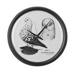 Warsaw Butterfly Pigeon Giant Clock