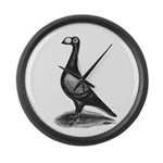 English Carrier Pigeon Giant Clock
