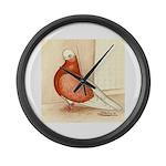 English Shortface Bald Giant Clock