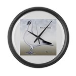 Polish Shortface Pigeon Giant Clock