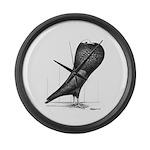 Silesian Pouter Pigeon Giant Clock