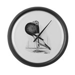 Starwitzer Pouter Pigeon Giant Clock