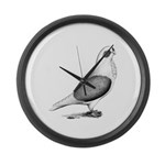 Turbiteen Pigeon Giant Clock