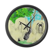 Lhasa Apso Giant Clock