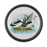 Magpie Drake and Duck Giant Clock