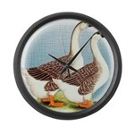 Goose and Gander Giant Clock
