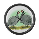 French Guineafowl Giant Clock