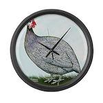 Lavendar Guinea Giant Clock
