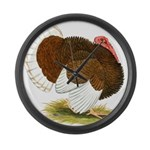 Bourbon Red Tom Turkey Giant Clock
