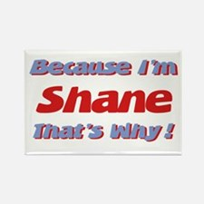 Because I'm Shane Rectangle Magnet