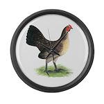 Brassy Back Hen Giant Clock