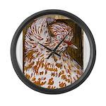 Teager Cap Pigeon Giant Clock