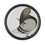 Brown Bar Flight Giant Clock