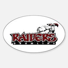 Raiders Logo Oval Decal