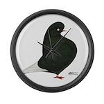 Black Flight Giant Clock