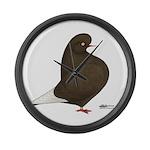 Brown Flight Giant Clock
