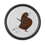 Red Flight Giant Clock