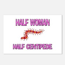 Half Woman Half Centipede Postcards (Package of 8)