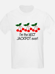Jackpot Baby Funny T-Shirt