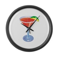 Margarita with Lime Giant Clock