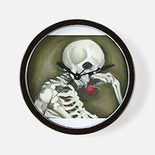 Día de los Muertos Day of the Dead Wall Clock