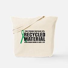 Organ Donor: Recycled Materia Tote Bag