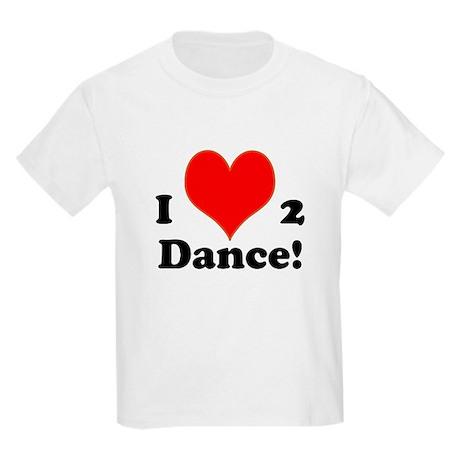 I LOVE TO DANCE! - Kids T-Shirt