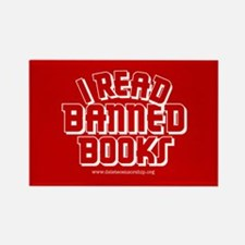 """""""Banned Books"""" Rectangle Magnet"""