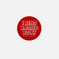 """Banned Books"" Mini Button (100 pack)"