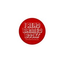 """Banned Books"" Mini Button (10 pack)"