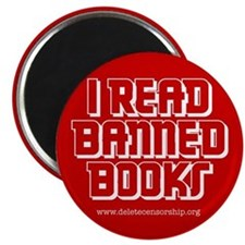"""Banned Books"" Magnet"