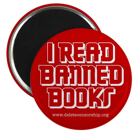 """""""Banned Books"""" Magnet"""