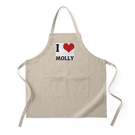 I Love Molly BBQ Apron