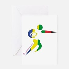Rugby Olympic Greeting Card