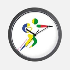 Rugby Olympic Wall Clock
