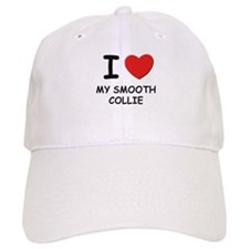I love MY SMOOTH COLLIE Baseball Cap